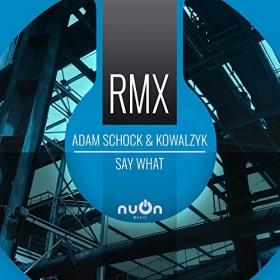 ADAM SCHOCK & KOWALZYK - SAY WHAT (ADAM HOFER REMIX)